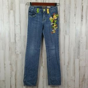 The Childrens Place Girl Jeans 6X/7 Blue Denim